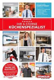 Aktueller Segmüller Prospekt, Segmüller - Ihr 6-Sterne Küchenspezialist, Seite 1
