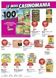 Catalogue Géant Casino en cours, Le mois Casinomania, Page 18