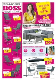 Aktueller SB Möbel Boss Prospekt, Aktuelle Angebote, Seite 1