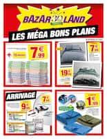 Catalogue Bazarland en cours, Les méga bons plans, Page 1