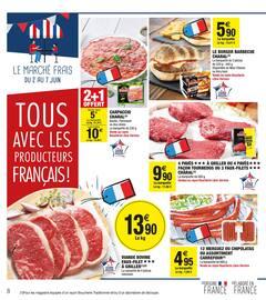 Catalogue Carrefour Market en cours, Le mois qui aime la France, Page 8