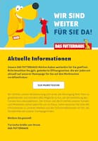 Aktueller Das Futterhaus Prospekt, Aktuelle Informationen, Seite 1