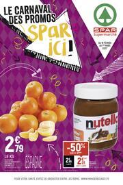Catalogue Spar en cours, Le carnaval des promos Spar ici !, Page 1