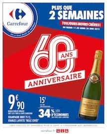 Catalogue Carrefour en cours, 60 ans ! Anniversaire !, Page 1