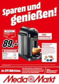 Aktueller MediaMarkt Prospekt, Sparen und genießen!, Seite 1