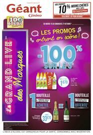 Catalogue Géant Casino en cours, Les promos entrent en scène !, Page 1