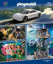 "Playmobil Catalogue ""Playmobil 2021"", 76 pages, Sainte-Marie,  31/07/2021 - 31/12/2021"