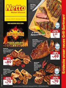 Netto Marken-Discount - Superhelden am Grill