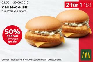 Aktueller McDonald's Prospekt, Oans, zwoa, sparen!, Seite 2