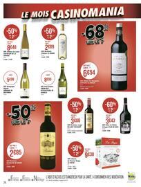 Catalogue Géant Casino en cours, Le mois Casinomania, Page 26