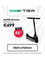 Aktueller myTIER Prospekt, eScooter, Seite 1