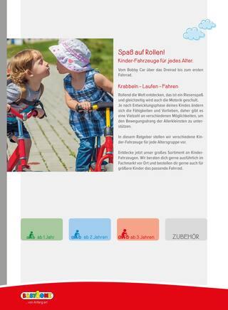 Aktueller BabyOne Prospekt, Kinder-Fahrzeuge - dein kleiner Ratgeber! , Seite 2