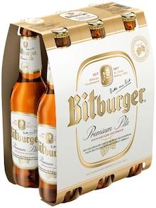 Bitburger im aktuellen REWE Prospekt für 3.49€