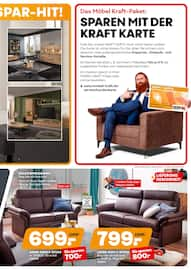 Aktueller Möbel Kraft Prospekt, Kraft-Spar-Wochen, Seite 9