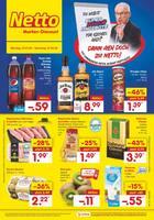 Aktueller Netto Marken-Discount Prospekt, DU WILLST SUPERBOWL ANGEBOTE FÜR KLEINES GELD? DANN GEH DOCH ZU NETTO!, Seite 1