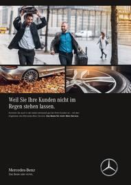 Aktueller Mercedes-Benz Prospekt, Weil Sie Ihre Kunden nicht im Regen stehen lassen., Seite 1