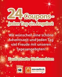 Aktueller Müller Prospekt, Zauberhafte Weihnachten mit 24 Adventscoupons, Seite 2