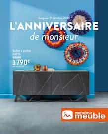 Catalogue Monsieur Meuble en cours, L'anniversaire de monsieur, Page 1