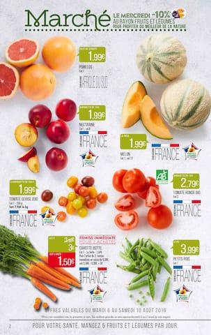 Catalogue Supermarchés Match en cours, 30% de remise immédiate, Page 2