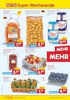Aktueller Netto Marken-Discount Prospekt, SUPER WOCHENENDE, Seite 1