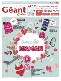 Catalogue Géant Casino en cours, Bonne fête Maman, Page 1