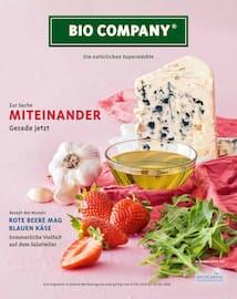 Aktueller Bio Company Prospekt, Die natürlichen Supermärkte, Seite 1