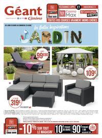 Catalogue Géant Casino en cours, Les belles inspirations jardin, Page 20