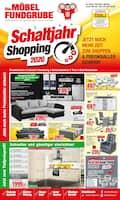 Aktueller Die Möbelfundgrube Prospekt, Schaltjahr-Shopping 2020 , Seite 1