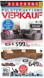Aktueller Seats and Sofas Prospekt, Polster-Aktions-Verkauf, Seite 1