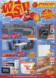 Aktueller POCO Prospekt, Winterschlussverkauf mit Kracher-Angeboten, Seite 1
