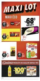 Catalogue Géant Casino en cours, Maxi lot, Maxi éco, Page 4