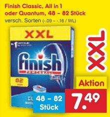 Waschmittel von Finish im aktuellen Netto Marken-Discount Prospekt für 7.49€