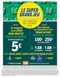Catalogue E.Leclerc en cours, Vos super pouvoirs d'achat !, Page 2