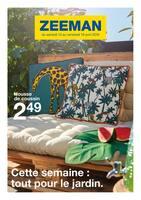 Catalogue Zeeman en cours, Cette semaine : tout pour le jardin., Page 1