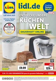 Lidl Prospekt für Katzenbach b Rockenhausen: ENTDECKE UNSERE KÜCHENWELT, 8 Seiten, 24.10.2021 - 30.10.2021