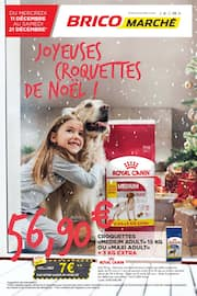 Catalogue Bricomarché en cours, Joyeuses croquettes de Noël !, Page 1