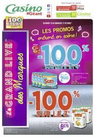 Catalogue Géant Casino en cours, Les promos entrent en scène !, Page 80