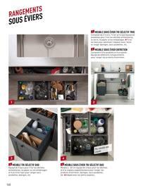 Catalogue Lapeyre en cours, Cuisines, meubles, plans de travail, éviers & robinetterie, Page 100