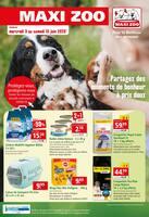 Catalogue Maxi Zoo en cours, Partagez des moments de bonheur à prix doux, Page 1