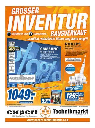 Aktueller expert Prospekt, Großer Inventur Rausverkauf! , Seite 1