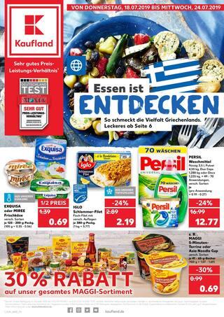 Aktueller Kaufland Prospekt, Essen ist entdecken, Seite 1