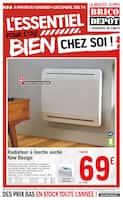 Catalogue Brico Dépôt en cours, L'ESSENTIEL pour être bien CHEZ SOI !, Page 1