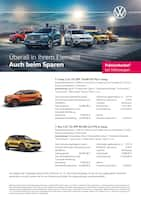 Aktueller Volkswagen Prospekt, Überall in ihrem Element - Auch beim Sparen, Seite 1