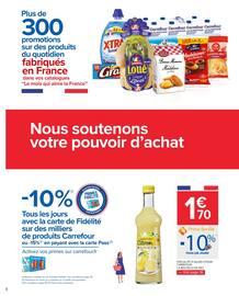 Catalogue Carrefour en cours, Le mois qui aime la France, Page 2