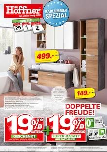 Höffner - Badezimmer Spezial