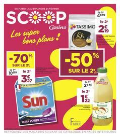Catalogue Casino Supermarchés en cours, Les super bons plans !, Page 20