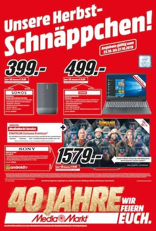 Aktueller Media-Markt Prospekt, Unsere Herbst-Schnäppchen!, Seite 1