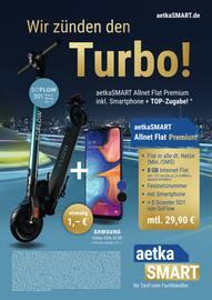 Aktueller aetka Prospekt, Wir zünden den Turbo!, Seite 1