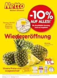 Netto Marken-Discount, Wiedereröffnung - 10% auf alles für Dortmund