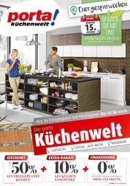 Aktueller porta Möbel Prospekt, porta! Küchenwelt Wieleipau, Seite 1